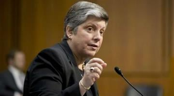 Homeland Security Secretary Janet Napolitano testifies on Capitol Hill in Washington, Tuesday, April 23, 2013, before the Senate Judiciary Committee hearing on immigration reform. (AP Photo/J. Scott Applewhite) By J. Scott Applewhite