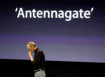 Apple CEO Steve Jobs talks about the Apple iPhone 4 at Apple headquarters in Cupertino, Calif., Friday, July 16, 2010. (AP Photo/Paul Sakuma) By Paul Sakuma