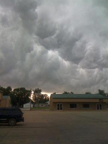 A KMOV.com viewer submitted this photo of storm clouds. By Bryce Moore