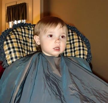 Jude before the haircut By Afton Spriggs