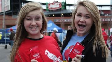 Thousands of Cardinals fans headed to Busch Stadium on Thursday, October 18 before the Red Birds took on the San Francisco Giants in Game 4 of the NLCS. By Belo Content KMOV