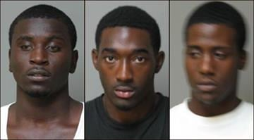 Marlen Waller, Derrell Howell and Trevonn Hunter were each charged for allegedly stealing multiple vehicles from Johnny Londoff Chevrolet in Florissant. By Belo Content KMOV