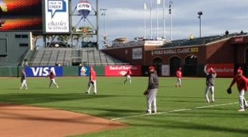 The Cardinals and Giants gear up for Game 6 of the NLCS. By Dan Mueller