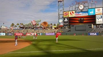 The Cardinals and Giants prepare for Game 6 of the NLCS in San Francisco. By Dan Mueller