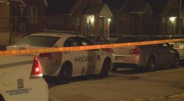 Police say two men were shot at 11:50 p.m. in the 5000 block of Ruskin. By Stephanie Baumer