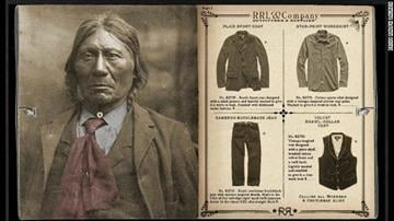"Ralph Lauren's holiday ad campaign for its RRL line is being criticized for its ""assimilation aesthetic"" that features what appear to be antique photos of stoic Native Americans dressed in Western attire. By Daniel Fredman"