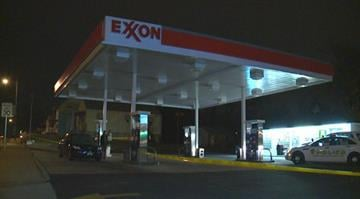 A man was shot at a Conoco gas station in the 4400 block of Jennings Station Road in Pine Lawn. By Stephanie Baumer