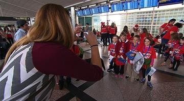 "Dozens of Denver, Denver-area children, many of whom are being treated for serious illness or are the victims of abuse or homelessness, were flown directly to the ""North Pole"" this Christmas on a Fantasy Flight. By Stephanie Baumer"