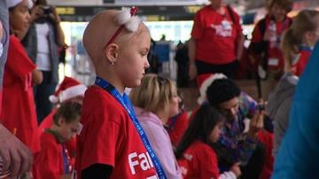 "Dozens of Denver, Colorad-area children, many of whom are being treated for serious illness or are the victims of abuse or homelessness, were flown directly to the ""North Pole"" this Christmas on a Fantasy Flight. By CNN"