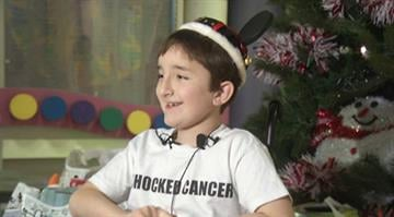Reece Davis is used to spending the holidays at Children's Mercy Hospital as a patient. This year, the 9-year-old is changing roles: from cancer patient to Santa Claus. By KCTV
