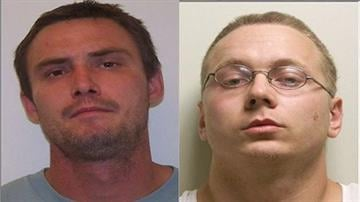 Richard W. Taylor, 29, of Trenton and William J. Kampwerth of Carlinville each are facing one charge of home invasion, a class X felony; residential burglary, a class 1 felony; and aggravated battery, a class 3 felony. By Daniel Fredman