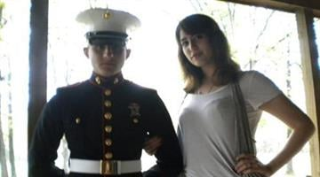 Cory Killgore and wife Brittany Dawn Killgore in 2010. Photo taken from his Facebook page. By Belo Content KMOV