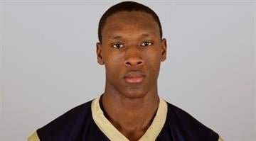 ST. LOUIS, MO - CIRCA 2010:  In this photo provided by the NFL, Dominique Curry of the St. Louis Rams poses for his 2010 NFL headshot circa 2010 in St. Louis, Missouri.  (Photo by NFL via Getty Images) By Brendan Marks