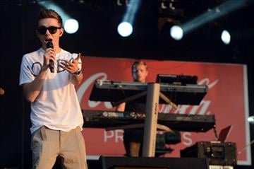 LONDON, ENGLAND - JULY 26:  Nathan Sykes of The Wanted performs at the London 2012 Olympic Torch Relay Finale Concert in London?s Hyde Park, presented by Coca-Cola on July 26, 2012 in London, United Kingdom.  (Photo by Ian Gavan/Getty Images) By Ian Gavan