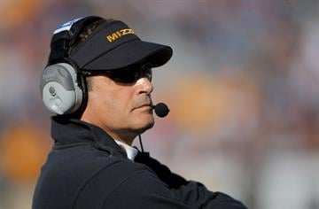 Head coach Gary Pinkel of the Missouri Tigers  (Photo by Doug Pensinger/Getty Images) By Doug Pensinger