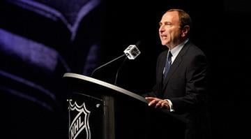 PITTSBURGH, PA - JUNE 22: NHL Commissioner Gary Bettman speaks during Round One of the 2012 NHL Entry Draft at Consol Energy Center on June 22, 2012 in Pittsburgh, Pennsylvania. (Photo by Justin K. Aller/Getty Images) By KMOV Web Producer