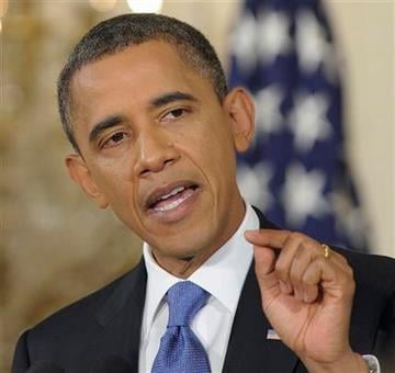 President Barack Obama gestures during a news conference in the East Room of the White House in Washington, Thursday, Oct. 6, 2011. (AP Photo/Susan Walsh) By Susan Walsh