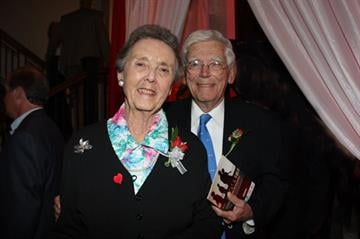 Dr. Robert and Mrs. Paine, founder of The Robert Paine Heart Institute at St. Luke's Hospital By Afton Spriggs