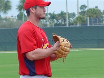 Third baseman David Freese By Lakisha Jackson