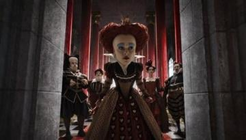 """In this film publicity image released by Disney, Helena Bonham Carter is shown in a scene from the film, """"Alice in Wonderland."""" (AP Photo/Disney) By Anonymous"""