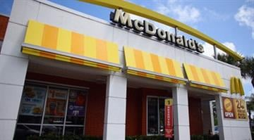 MIAMI, FL - JULY 23: A McDonald's restaurant is seen July 23, 2012 in Miami, Florida. The company announced that 2nd quarter profit dropped 4.5 percent. (Photo by Joe Raedle/Getty Images) By Joe Raedle