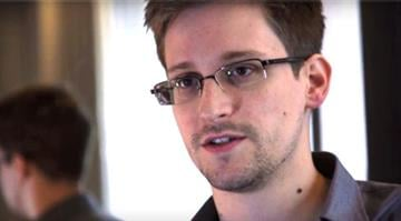 Edward Snowden, in a screengrab from a video shot in Hong Kong by the Guardian newspaper / Screengrab via The Guardian By Dan Mueller