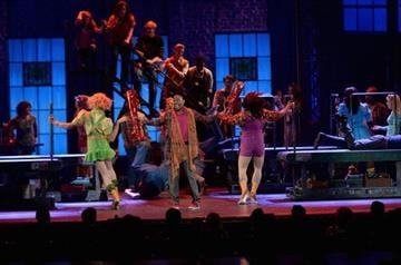 NEW YORK, NY - JUNE 09:  The cast of 'Kinky Boots' performs onstage at The 67th Annual Tony Awards at Radio City Music Hall on June 9, 2013 in New York City.  (Photo by Andrew H. Walker/Getty Images for Tony Awards Productions) By Andrew H. Walker