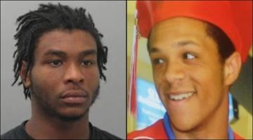 Nicholas Lunceford, 19, (left) is accused of shooting 18-year-old Brandon Richards (right) with a handgun at a home in Kirkwood Monday night. By Brendan Marks