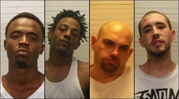 Deangelo Wiley, 19, Devin Warren, 19, Daniel Brown, 34, and Joshua Baker, 27, face additional charges after authorities say they plotted to escape from the St. Clair County Jail. By Brendan Marks