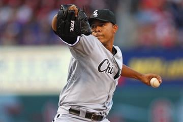 ST. LOUIS, MO - JUNE 12: Starter Jose Quintana #62 of the Chicago White Sox pitches against the St. Louis Cardinals at Busch Stadium on June 12, 2012 in St. Louis, Missouri.  (Photo by Dilip Vishwanat/Getty Images) By Dilip Vishwanat