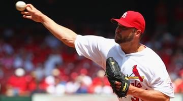 ST. LOUIS, MO - MAY 3: Starter Jake Westbrook #35 of the St. Louis Cardinals pitches against the Pittsburgh Pirates at Busch Stadium on May 3, 2012 in St. Louis, Missouri. (Photo by Dilip Vishwanat/Getty Images) By Dilip Vishwanat