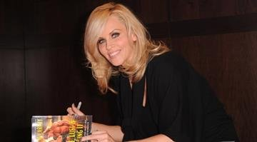 "Author Jenny McCarthy signs copies of her new book ""Love, Lust & Faking It"" at Barnes and Noble bookstore on October 4, 2010 in Los Angeles, California.  (Photo by Alberto E. Rodriguez/Getty Images) By Alberto E. Rodriguez"
