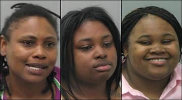 Effee Lewis, 42, Shanequa Lews, 20, and Shantel Lewis, 19, have all been charged with assault on a law enforcement officer and resisting arrest after a scuffle at a south St. Louis business May 1. By Brendan Marks