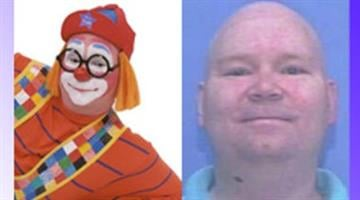 Image from Sondance the Clown website (left) and undated photo of Thomas Harold Morgan. (Credit: http://www.sondance.net; KFSM-TV) By Belo Content KMOV