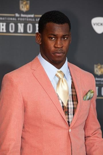 INDIANAPOLIS, IN - FEBRUARY 04:  Professional Fopotball Player Aldon Smith attends the 2012 NFL Honors at the Murat Theatre on February 4, 2012 in Indianapolis, Indiana.  (Photo by Joey Foley/Getty Images) By Joey Foley