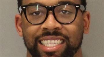 In this photo provided by the Omaha Police Department, Marcus Jordan, the son of retired NBA great Michael Jordan, is shown. (Omaha Police Department) By Belo Content KMOV