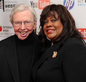 NEW YORK - JUNE 14:  Film critc Roger Ebert and wife Chaz Ebert attend the 14th Annual Webby Awards at Cipriani, Wall Street on June 14, 2010 in New York City.  (Photo by Stephen Lovekin/Getty Images) By Stephen Lovekin