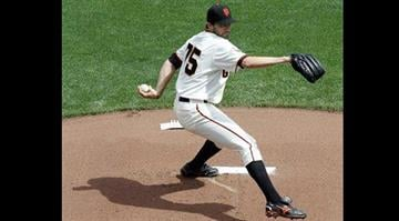 San Francisco Giants starting pitcher Barry Zito throws to the San Francisco Giants during the first inning of a baseball game on Friday, April 5, 2013, in San Francisco. (AP Photo/Tony Avelar) By Tony Avelar