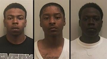 Michael Rencher, 19, Wadell Savage, 18, and Vincent Pitts, 22, may be linked to several burglaries in the Metro-East, according to police. By Dan Mueller