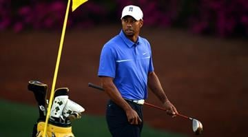Tiger Woods of the US during a practice round at the 77th Masters golf tournament at Augusta National Golf Club on April 10, 2013 in Augusta, Georgia.    AFP PHOTO / DON EMMERT        (Photo credit should read DON EMMERT/AFP/Getty Images) By DON EMMERT