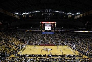 COLUMBIA, MO - JANUARY 03:  General view during the game between the Oklahoma Sooners and the Missouri Tigers on January 3, 2012 at Mizzou Arena in Columbia, Missouri.  (Photo by Jamie Squire/Getty Images) By Jamie Squire