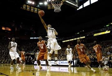 COLUMBIA, MO - JANUARY 14:  Phil Pressey #1 of the Missouri Tigers goes up for a lay-up during the game against the Texas Longhorns on January 14, 2012 at Mizzou Arena in Columbia, Missouri.  (Photo by Jamie Squire/Getty Images) By Jamie Squire