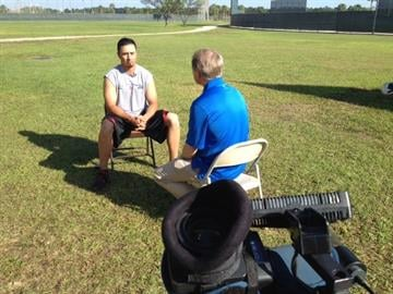Kyle Lohse and Doug Vaughn By KMOV Web Producer
