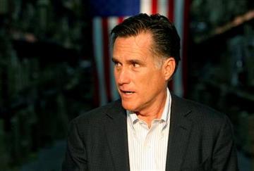 Republican presidential candidate, former Massachusetts Gov. Mitt Romney speaks at an economic roundtable in Kentwood, Mich., Wednesday, Feb. 15, 2012. (AP Photo/Gerald Herbert) By Gerald Herbert
