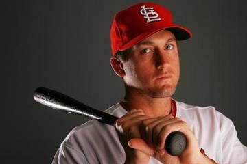 JUPITER, FL - MARCH 01:  Infielder David Freese #23 of the St. Louis Cardinals during photo day at Roger Dean Stadium on March 1, 2010 in Jupiter, Florida.  (Photo by Doug Benc/Getty Images) By Doug Benc