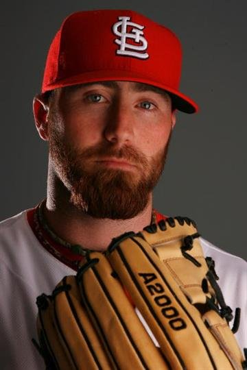 JUPITER, FL - MARCH 01:  Pitcher Jason Motte #60 of the St. Louis Cardinals during photo day at Roger Dean Stadium on March 1, 2010 in Jupiter, Florida.  (Photo by Doug Benc/Getty Images) By Doug Benc