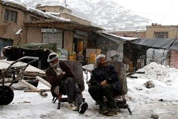 Afghan day laborers wait for customers in downtown Kabul, Afghanistan, Tuesday, Feb. 21, 2012. (AP Photo/Ahmad Jamshid) By Ahmad Jamshid