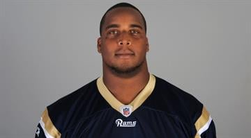 In this handout image provided by the NFL, Fred Robbins of the St. Louis Rams poses for his NFL headshot circa 2011 in Earth City, Missouri. (Photo by NFL via Getty Images) By Handout
