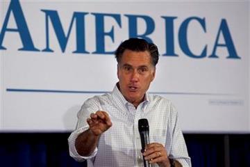 Republican presidential candidate, former Massachusetts Gov. Mitt Romney, campaigns Sunday, March 18, 2012, in Moline, Ill. (AP Photo/Steven Senne) By Steven Senne