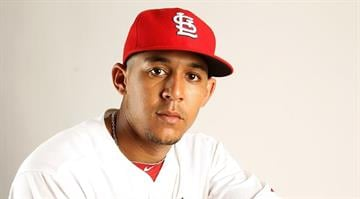 JUPITER, FL - FEBRUARY 24: Jon Jay #15 of the St. Louis Cardinals poses for a portrait during Photo Day at Roger Dean Stadium on February 24, 2011 in Jupiter, Florida.  (Photo by Mike Ehrmann/Getty Images) *** Local Caption *** Jon Jay By Mike Ehrmann